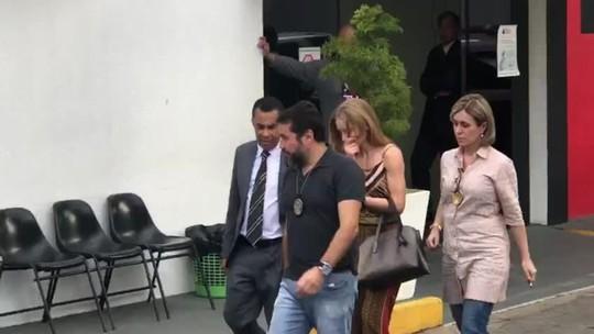 Najila depõe de novo, e polícia espera entrega do celular