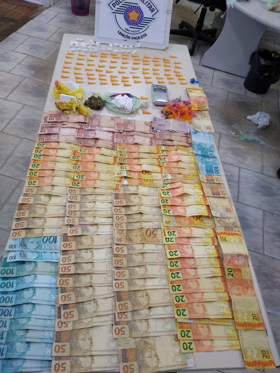 Mãe e filho são presos suspeitos de tráfico de drogas em Lençóis Paulista
