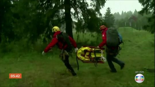 Cinco pessoas morrem em tempestade inesperada na Polônia e na Eslováquia