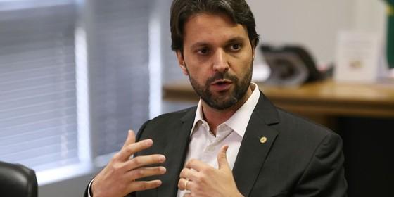 Alexandre Baldy, ministro das Cidades (Foto: Fabio Rodrigues Pozzebom/Agência Brasil)