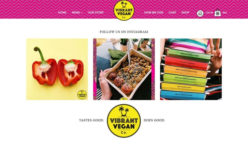 Empresa oferece vaga de R$ 22 mil para viajar pelo mundo provando comida vegana — Foto: Vibrant Vegan Co./Facebook