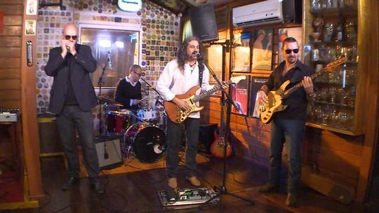 Reprise: Banda Audergang mostra o blues mineiro no Globo Horizonte