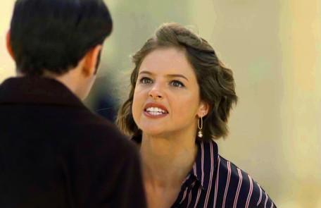Na segunda-feira (12), Josiane (Agatha Moreira) vai matar Lucas (Kainan Ferraz), namorado de Jardel (Duio Botta) Reprodução