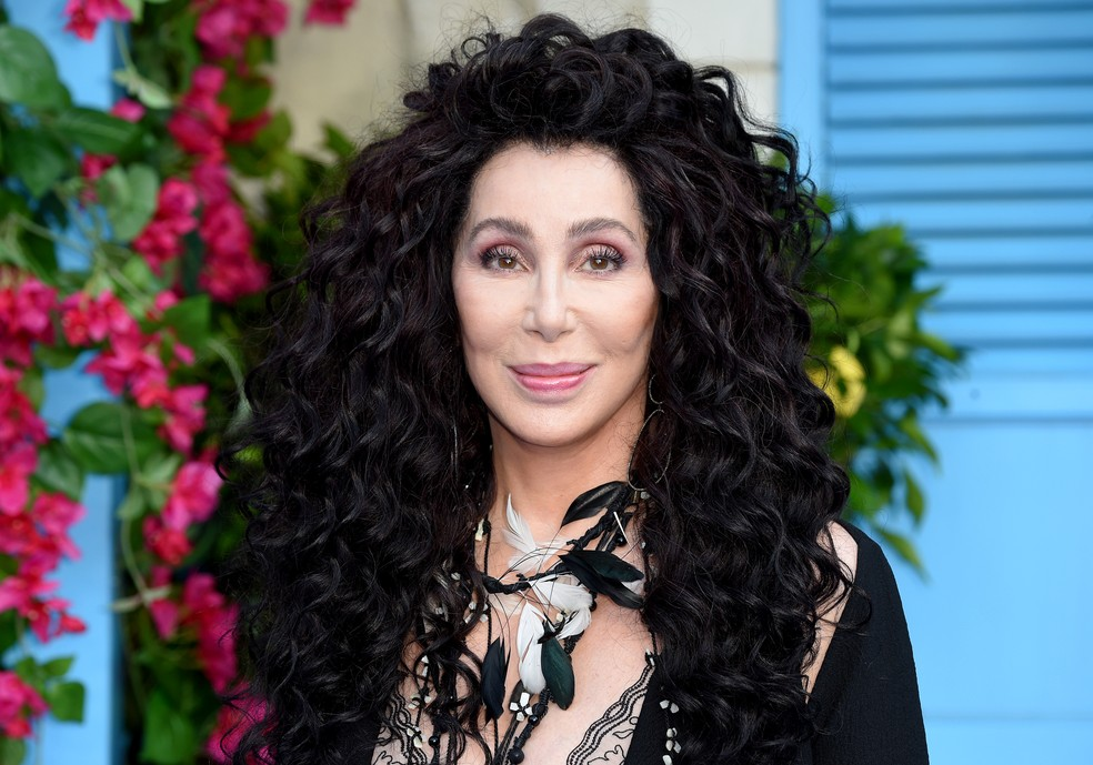 Cher durante divulgação do longa