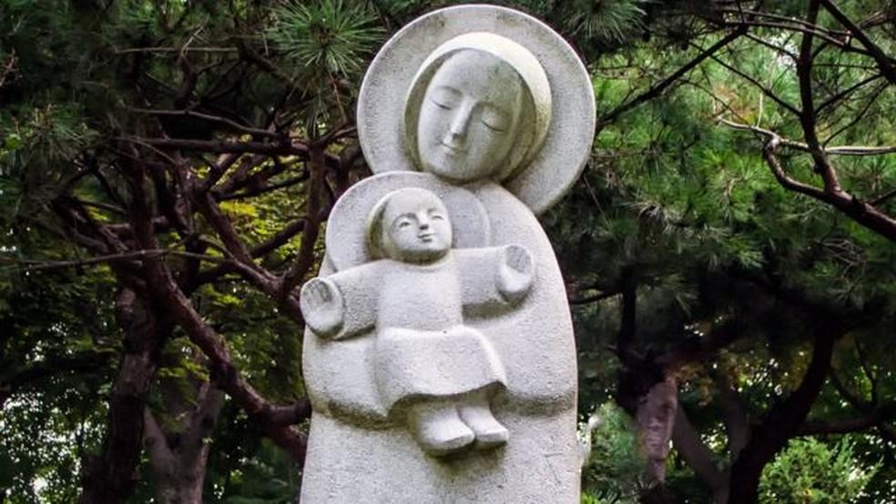 A devoção à Maria é muito antiga no catolicismo — Foto: Getty Images