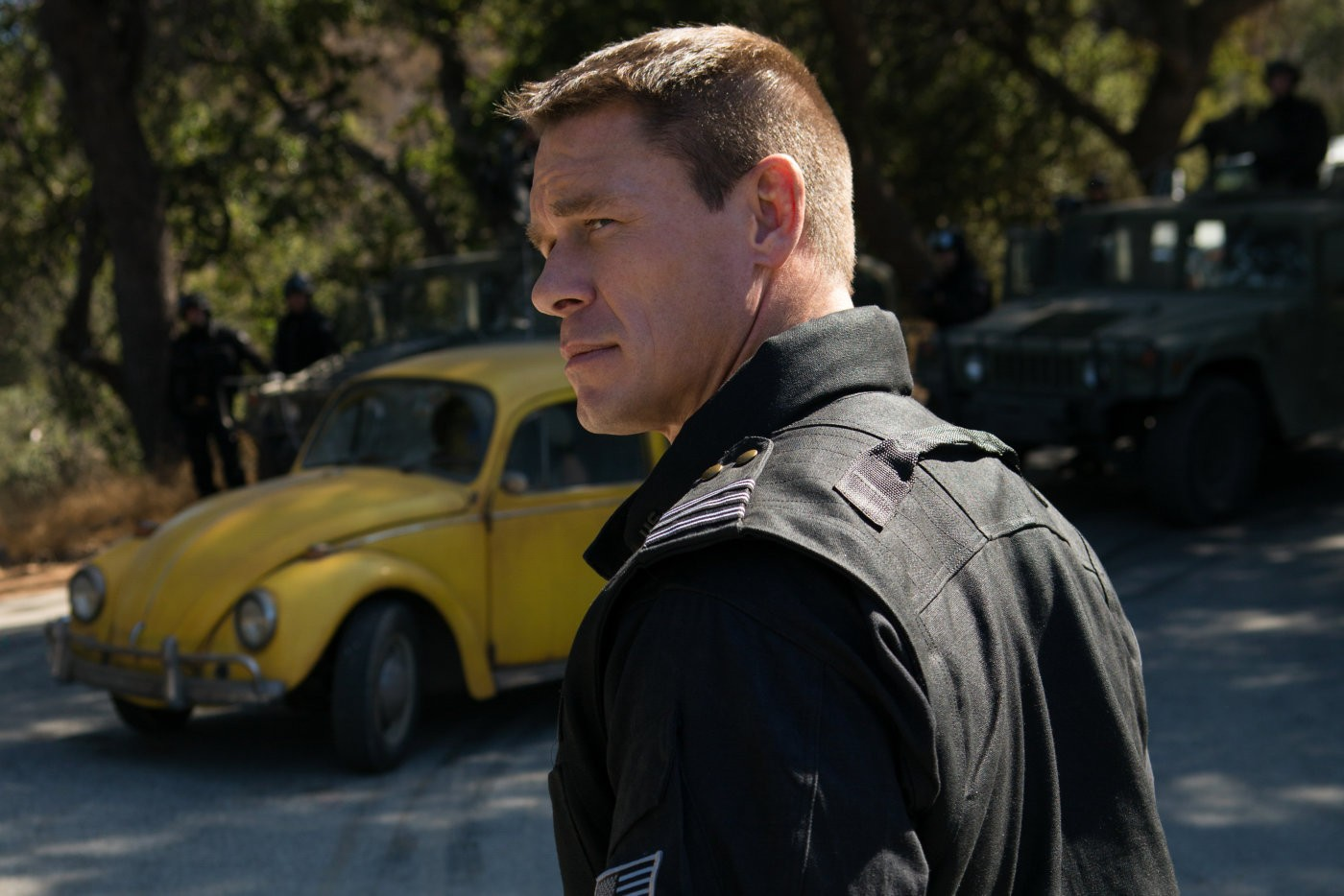 John Cena, o vilão ~humano~ de Bumblebee (Foto: divulgação)