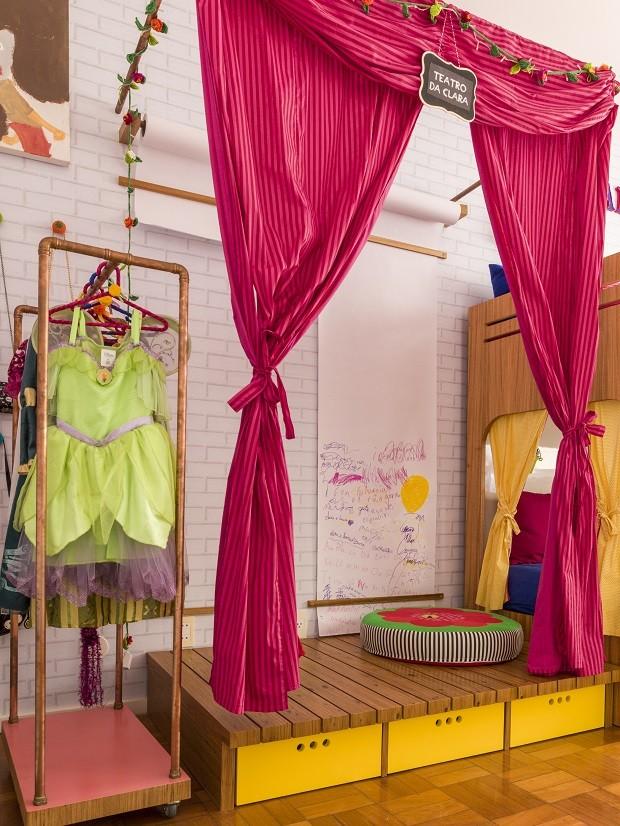 Conheça o quarto de Clara, filha de Ingrid Guimarães (Foto: Na Toca / Divulgação)