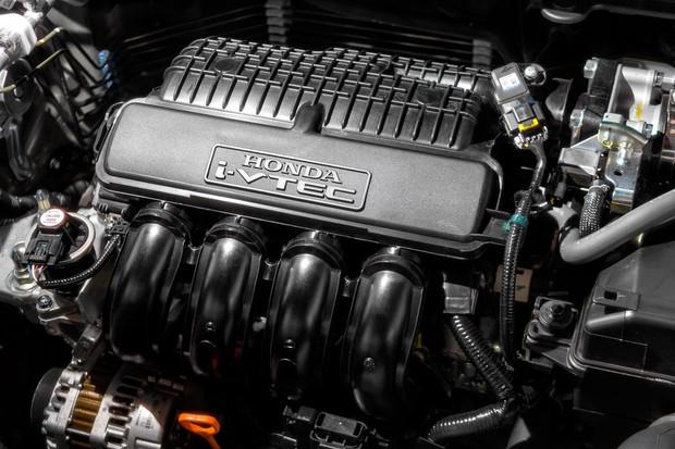 Motor 1.5 é mais forte nos Fit e City vendidos no exterior (Foto: Leo Sposito/Autoesporte)
