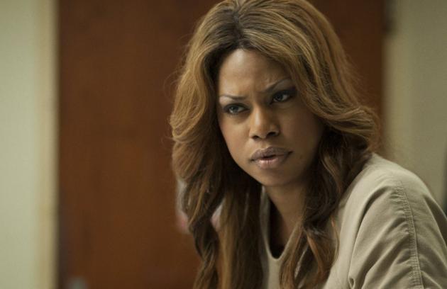 Laverne Cox, que é transgênero na vida real,  teve duas personagens trans na ficção: nas séries 'Orange is the new black' e 'Doubt' (Foto: Divulgação)