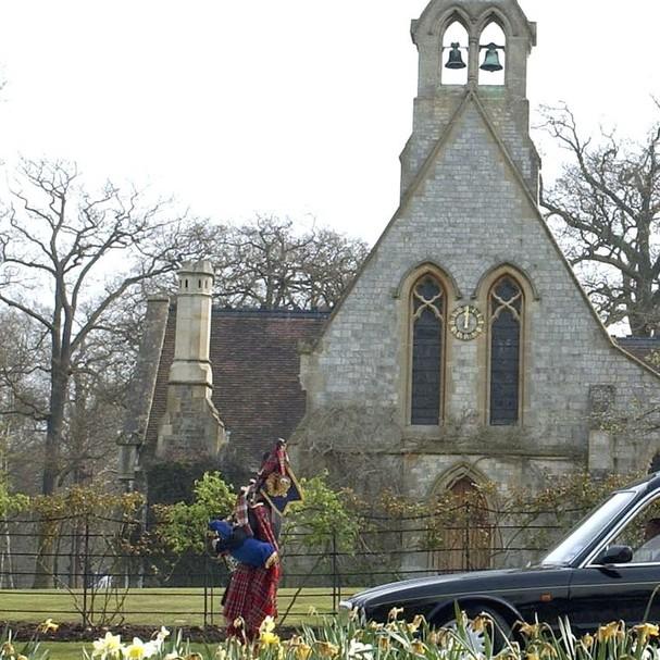 Capela de Todos os Santos no Grande Parque de Windsor, onde a cerimônia ocorreu (Foto: Reprodução)