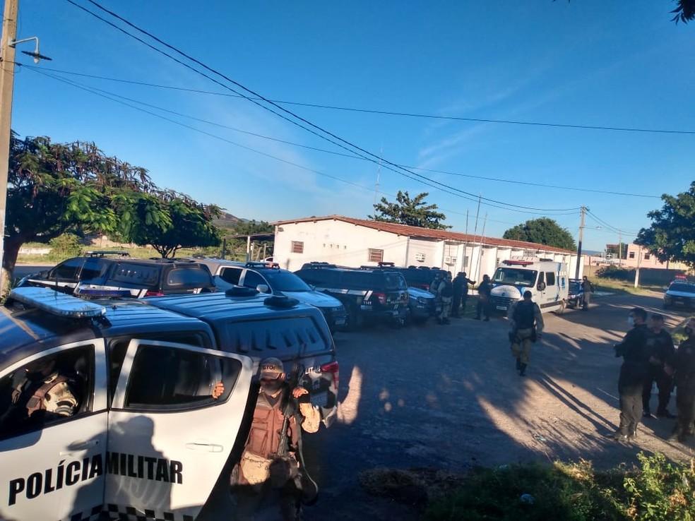 Operação prende 11 pessoas e 1 suspeito morre em confronto com a polícia no Oeste potiguar — Foto: Polícia Militar/Divulgação