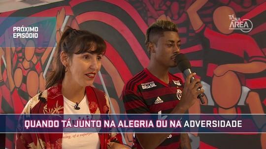 Futeokê: no segundo episódio da série, veja as perfomances dos jogadores do Flamengo com o microfone