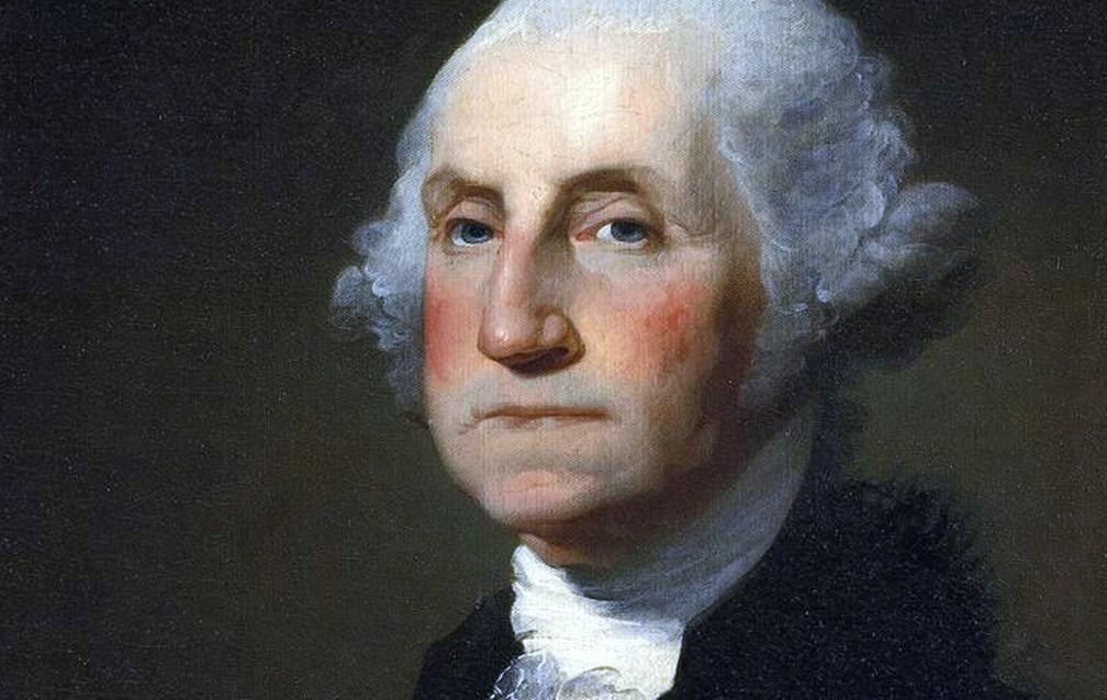 O primeiro presidente dos EUA, George Washington, aparentemente tentou uma ação suicida ao encontrar tropas britânicas durante a Guerra de Independência dos EUA.  — Foto: Casa Branca