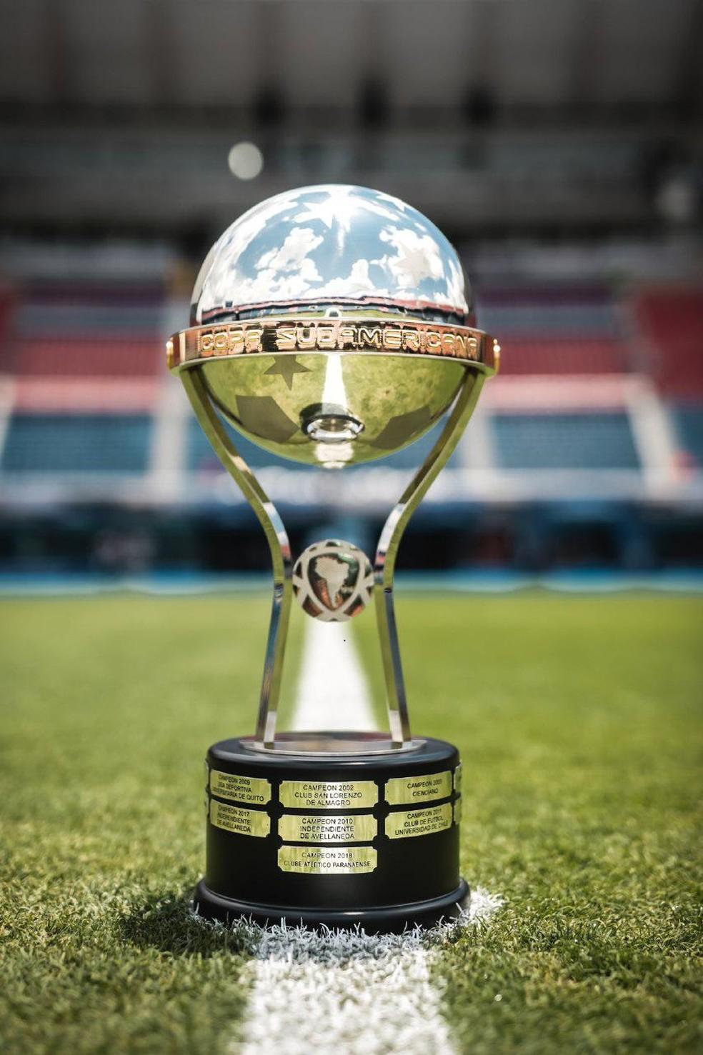 Taça da Sul-Americana — Foto: Divulgação