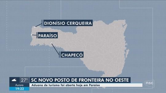 SC tem nova aduana de turismo na fronteira com Argentina