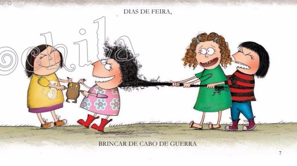 No livro Peppa, Silvana Rando aparece entre as amigas da protagonista. (Foto: Reprodução)