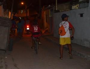 Projeto bairro são josé, Associação craques fora do crack (Foto: Hévilla Wanderley / GloboEsporte.com/pb)