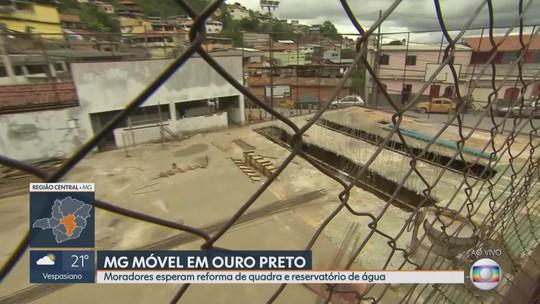 MG Móvel acompanha reivindicação de moradores de Ouro Preto pela quinta vez