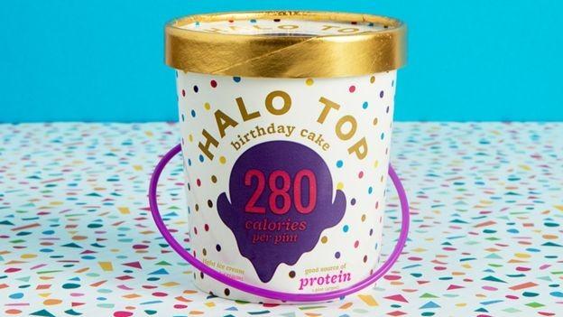 Depois de um artigo da revista GQ, as vendas do sorvete Halo Top dispararam  (Foto: Halo Top via BBC)