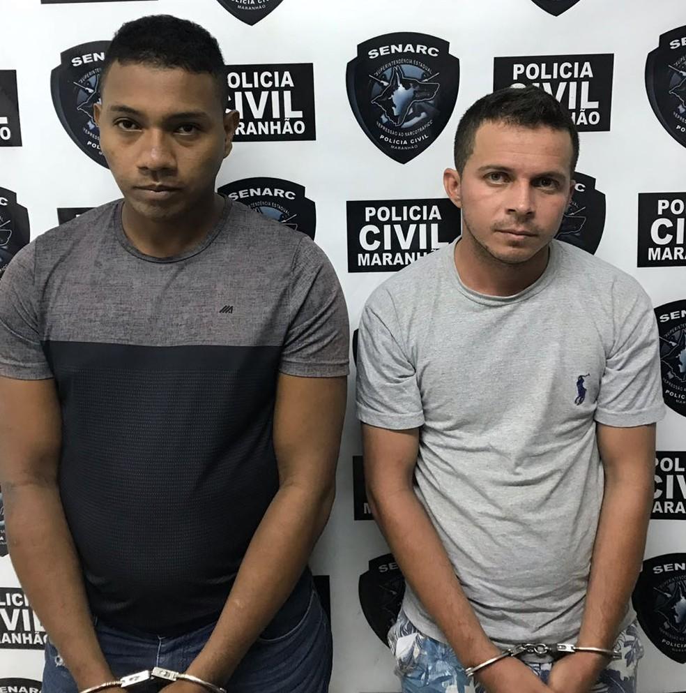 Hermerson (à esquerda) e Nilton (à direita) foram presos pela Polícia. (Foto: Divulgação/Polícia Civil)