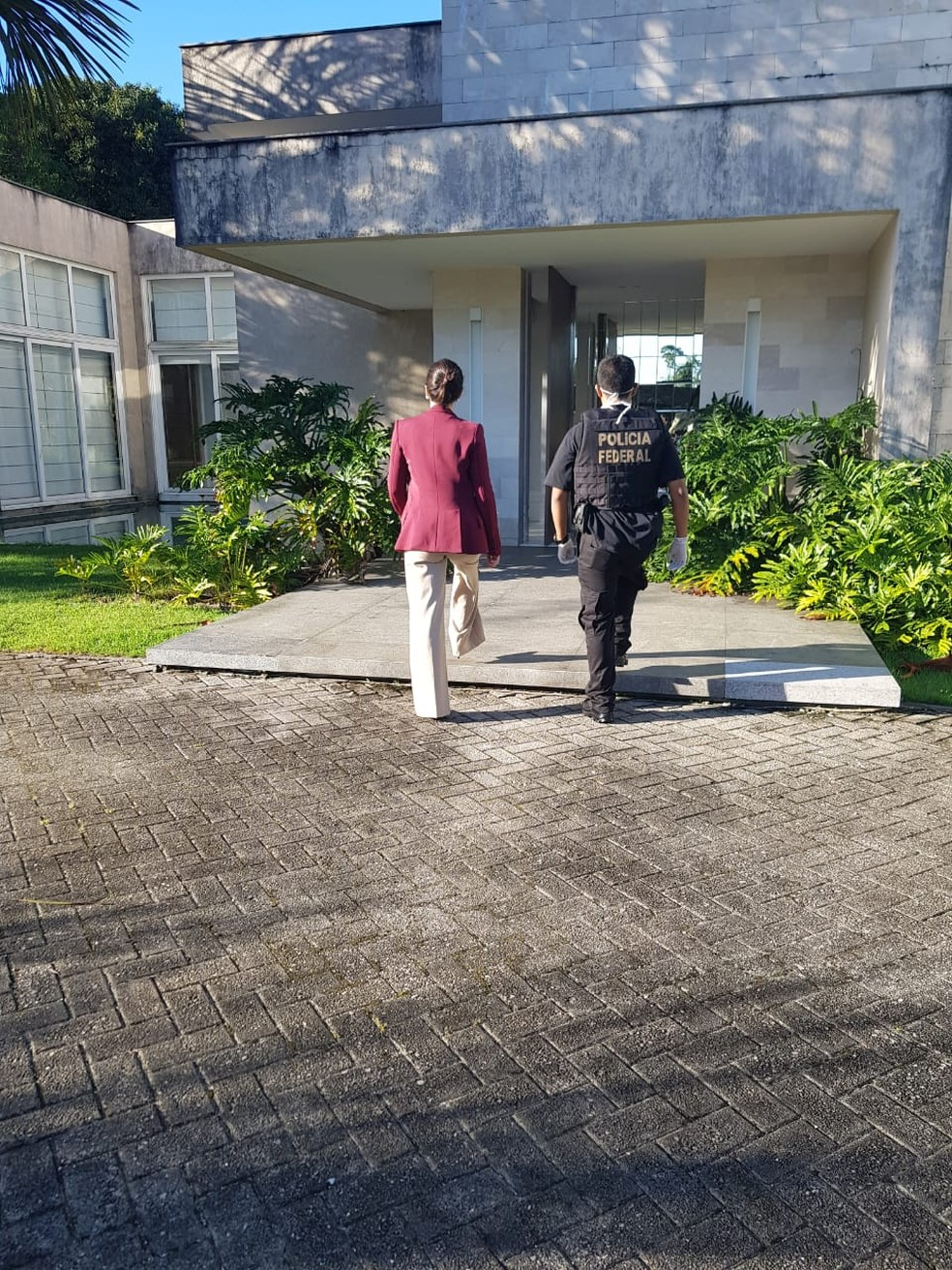 Polícia Federal realiza buscas na casa do governador, Helder Barbalho — Foto: Reprodução/Polícia Federal do Pará