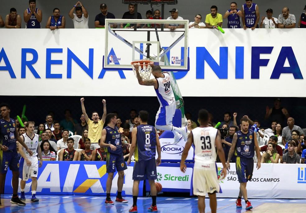 Desde que conquistou a liga ouro, em 2018, o Basquete Unifacisa tem sido um verdadeiro sucesso em Campina Grande, no interior da Paraíba — Foto: Daniel Nery / Basquete Unifacisa