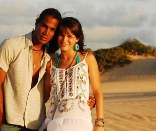 Micael Borges e Bianca Bin   TV Globo