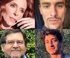 Deborah Evelyn, Bruno Montaleone, Celso Frateschi e Johnny Massaro   Reprodução