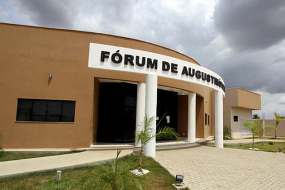 Selecionado vai trabalhar na comarca de Augustinópolis — Foto: Divulgação/TJ-TO