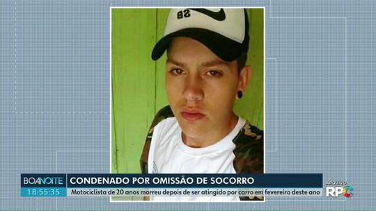 Motorista é condenado a oito anos de prisão por omissão de socorro em Ponta Grossa
