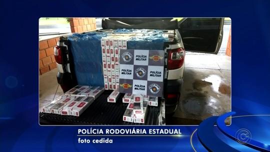 Polícia apreende cerca de 10 mil maços de cigarros contrabandeados em Rio Preto