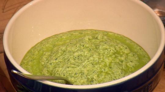 Salsa Verde do Chef Ravioli