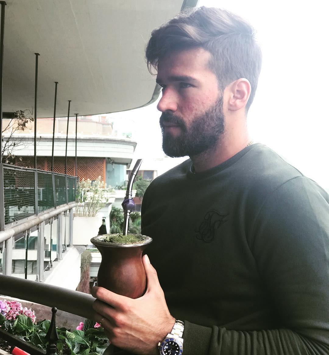 Alisson Becker, goleiro da Seleção Brasileira (Foto: Reprodução / Instagram)