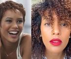 Taís Araujo mostra foto de 2012 e visual atual; antes e depois de 'transição capilar' | Juliana Coutinho/Divulgação e Reprodução/Instagram