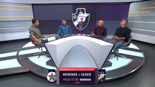 Junior vê exagero em pressão sobre Alberto Valentim, técnico do Vasco