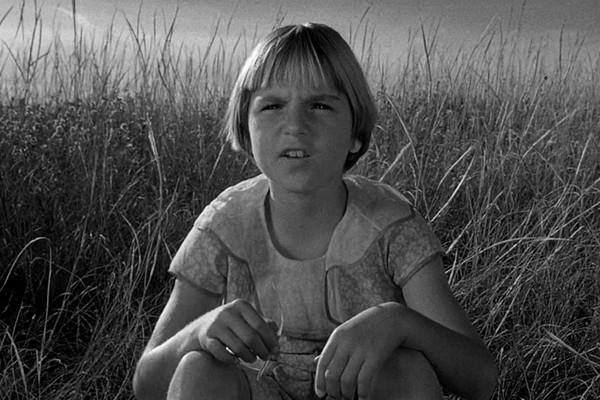 A atriz Tatum O'Neal  em cena de Lua de Papel (1973) (Foto: Reprodução)