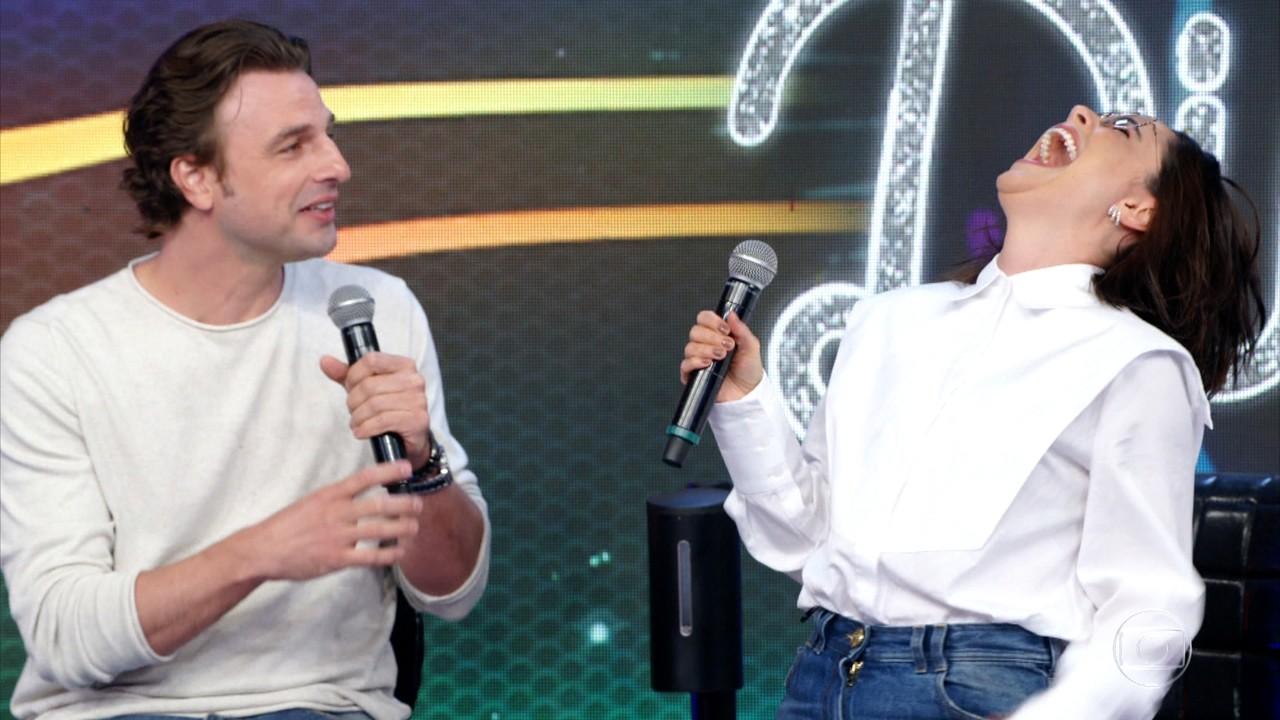 Fernanda Vasconcellos e Cássio Reis acertam campainha de número um