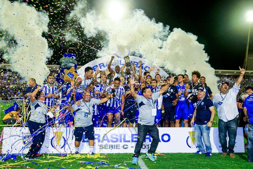 Título da Série C é o mais importante na história do CSA — Foto: Ailton Cruz/Gazeta de Alagoas