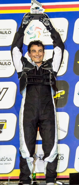 Anderson Di Rizzi estreia no Kart dos Artistas com pé direito e conquista o quinto lugar (Foto: Divulgação)