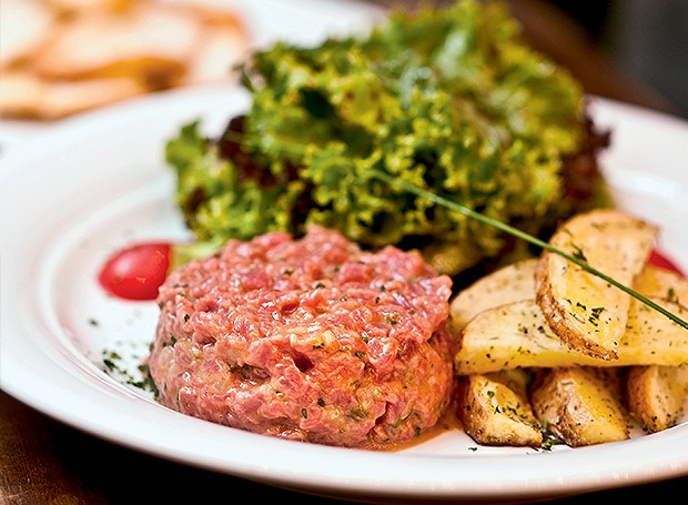 Steak tartare (Foto: Ricardo Corrêa/Editora Globo)