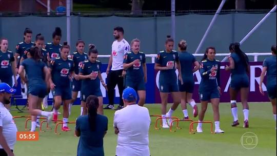 Brasil enfrenta a Itália pela Copa do Mundo Feminina