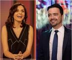 Monica Iozzi e Daniel Ortiz | TV Globo