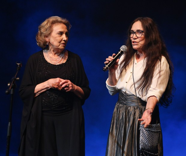 Regina Duarte anuncia homenagem a Eva Wilma (Foto: Deividi Correa / AgNews )