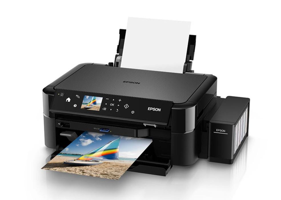 Epson EcoTank L850 imprime fotografias — Foto: Divulgação/Epson