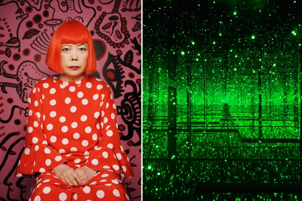 Yayoi Kusama  - Filled with teh Brilliance of Life (Foto: Divulgação)
