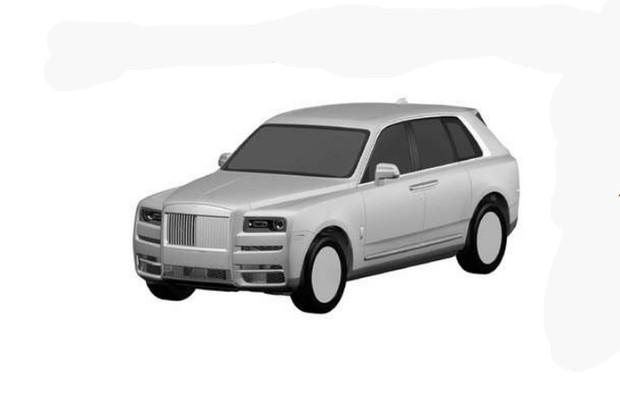 Registro do Rolls-Royce Cullinan no INPI (Foto: Divulgação)