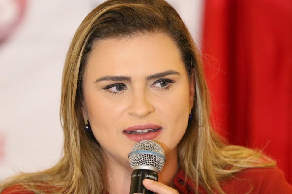 Marília Arraes (PT-PE) foi eleita para a segunda-secretaria da Câmara dos Deputados — Foto: Marlon Costa/Pernambuco Press