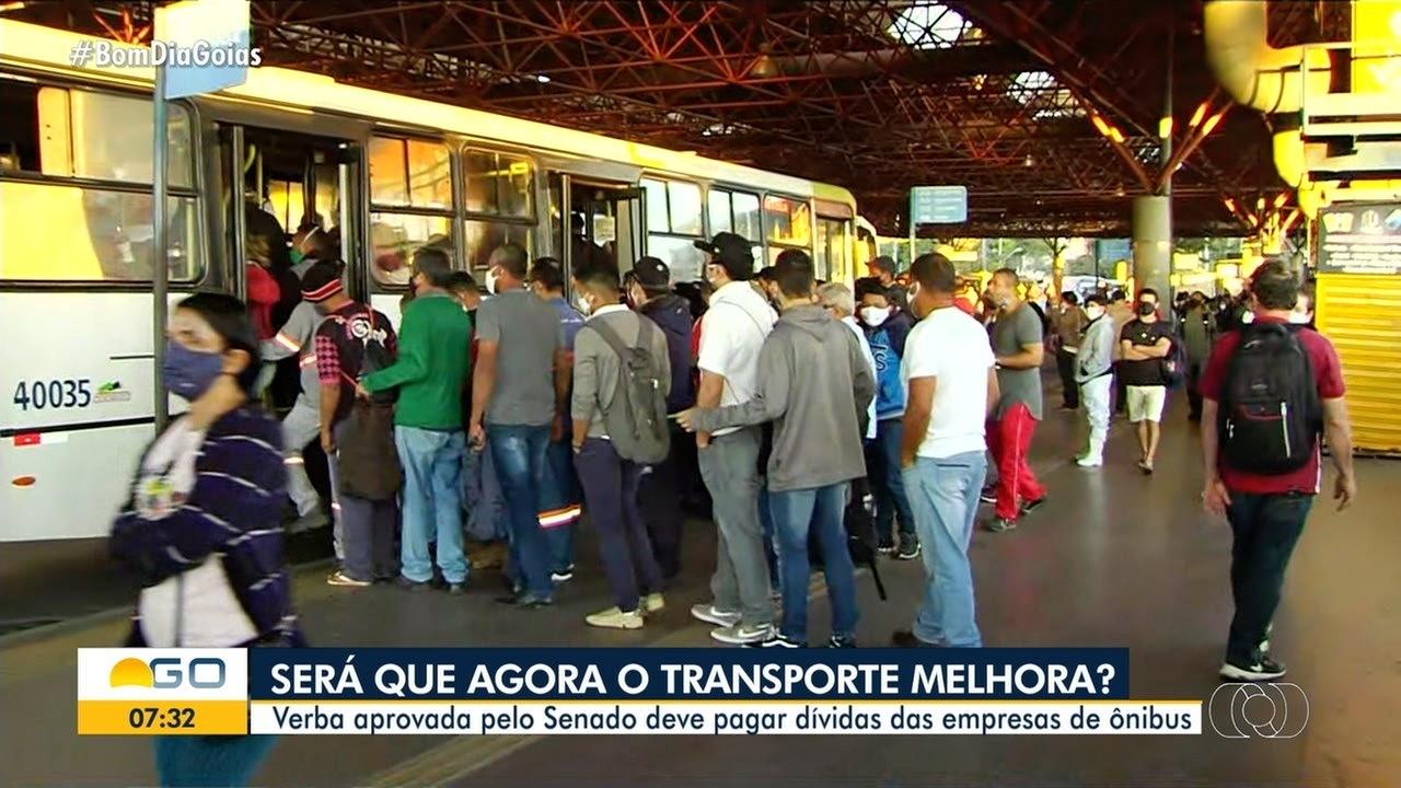 Verba aprovada pelo Senado deve pagar dívidas das empresas de ônibus em Goiânia