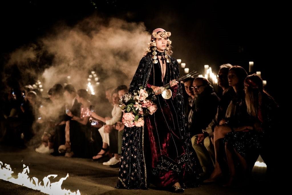 Desfile da Gucci em cemitério romano (Foto: Getty Images)