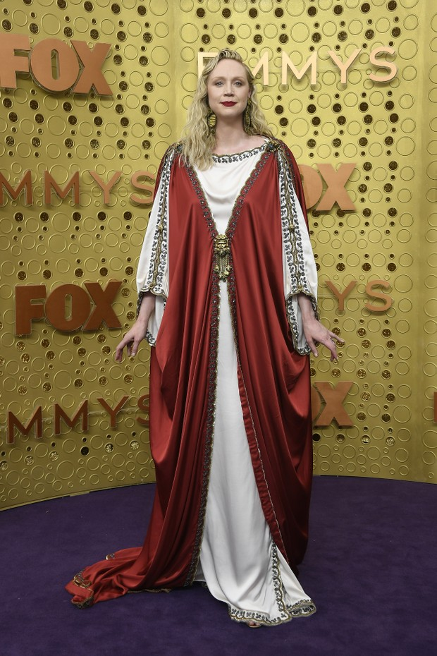 Gwendoline Christie usa Gucci (Foto: Getty Images)